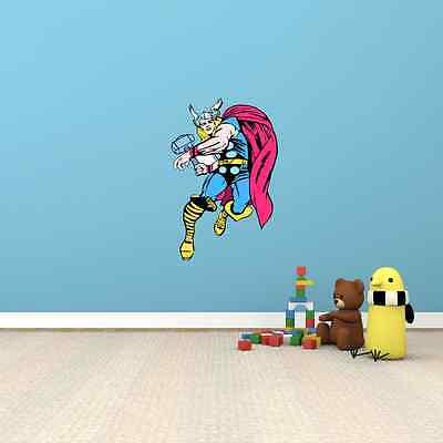 "Thor Comics Cartoon Kids Room Wall Decor Sticker Decal 16/""X25/"""