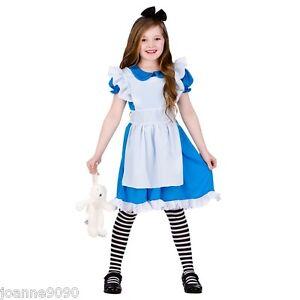 nina-Cuento-Alice-in-wonderland-Cuento-De-Hadas-carnaval-disfraz