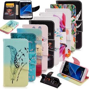 Housse-Etui-Flip-Coque-Portefeuille-Simili-Cuir-Cote-Magnetique-Pour-Telephones