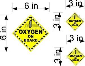 SET-OF-3-OXYGEN-ON-BOARD-VINYL-DECALS-FOR-CAR-WINDOWS-OR-DOOR