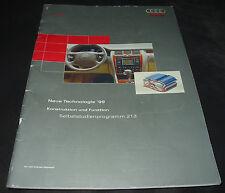 SSP 213 Audi A8 D2 4E A6 S6 Biturbo V6 TDI Neue Technologien S4 Stand 02/1999!