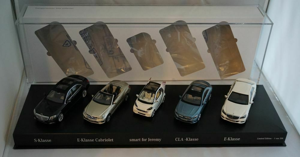 MERCEDES-BENZ 2013  Fascination Mercedes presseset avec cinq Modèles 1 43 PC + neuf dans sa boîte