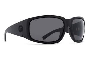 5cba33ca4a VonZipper PALOOKA Sunglasses (NEW) Black Satin   Grey VON ZIPPER 100 ...