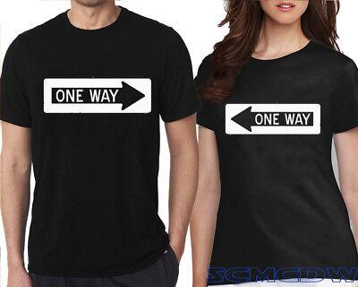 Unisex Tee More Than Friends Custom Unisex Black T-Shirt Cute Couples Valentines Shirt