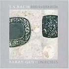 J.S. Bach: Sonata in G minor, BWV 1001; Partita in B minor, BWV 1002; Barry Guy: Inachis (2007)