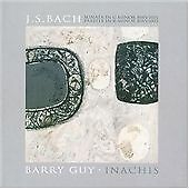 J.S. Bach - Sonata in G Minor & Partita in B Minor; Barry Guy - Inachis, Barry G