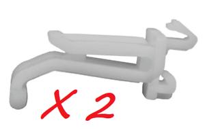 2 x GENUINE PEUGEOT 306 HEADLIGHT MOULDING CLIP FIXING