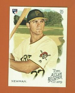 2019 Topps Allen & Ginter Kevin Newman RC #194 Pittsburgh Pirates