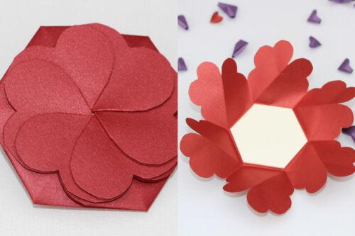 soie rouge cœur Traditionnel 4th//12th Soie Anniversaire De Mariage Cadeau Cadre