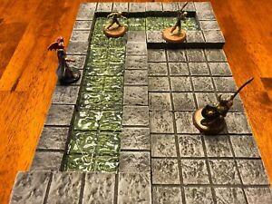 Details about Dungeon Sewer Set Terrain 28mm Wargaming Dungeons & Dragons  Pathfinder d&d