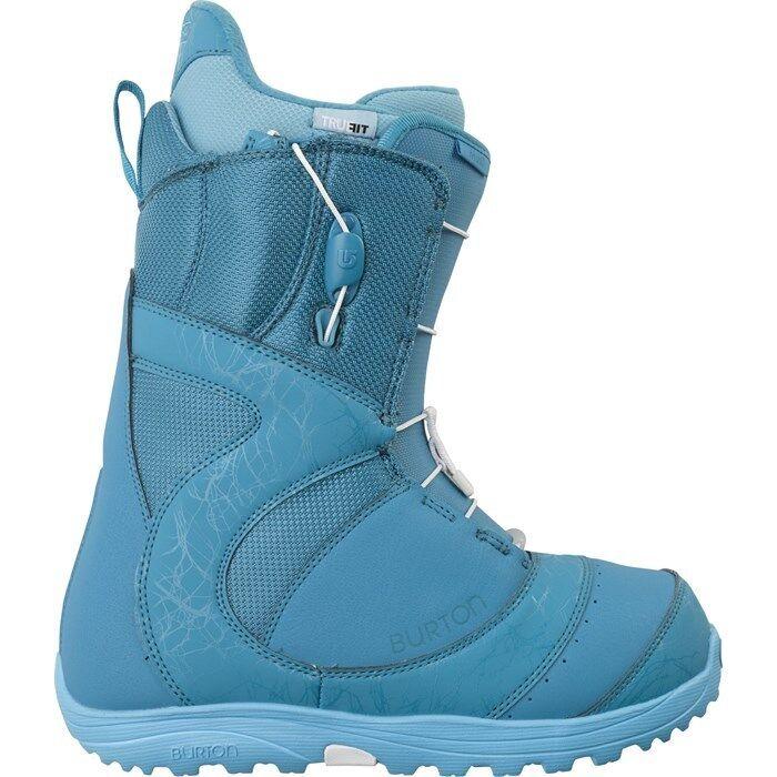 Burton 2014 Mint Speeedzone Snowboard Boot The Teal Deal Women's US Size 6.0