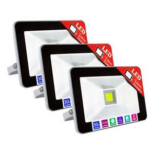 Foco-Proyector-Exterior-LED-Impermeable-IP65-Extraplano-Luz-Reflector-Bombilla