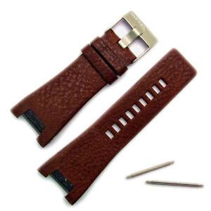 Diesel-Genuine-Original-Watch-Strap-Real-Leather-S-Steel-Buckle-for-DZ1273