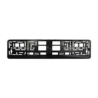 Number Plate Holder Frame Surround Black