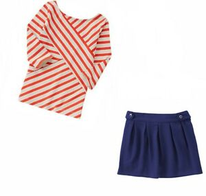 Gymboree Parisian Afternoon 2 pc Sets-Top,Shorts,Skort,Skirt 6 *NWT* Retail