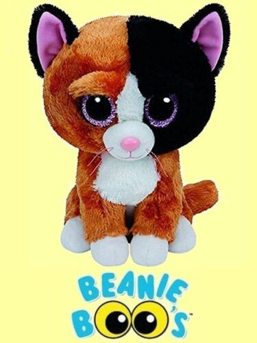 "Ty® 9/"" Tauri Beanie Boo/'s® Medium Calico Cat FROM OUR CAT /& KITTEN STOCK"