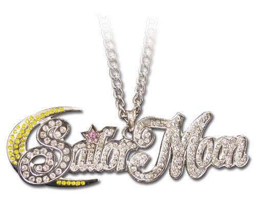 Necklace: Sailor Moon - Studded Logo