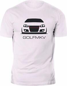 volkswagen vw golf mk5 mkv gti r32 t shirt custom print ebay. Black Bedroom Furniture Sets. Home Design Ideas