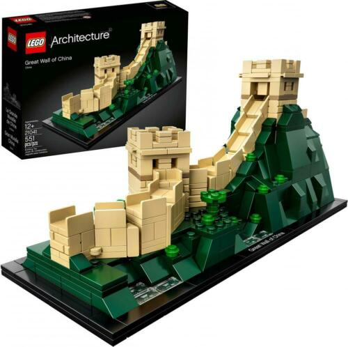 551 Pieces LEGO Architecture Great Wall of China 21041 BuildingKit