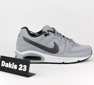 28be59dae64e8 Nike Air Max Command Leather Men Lifestyle Sneakers Shoes New Grey ...