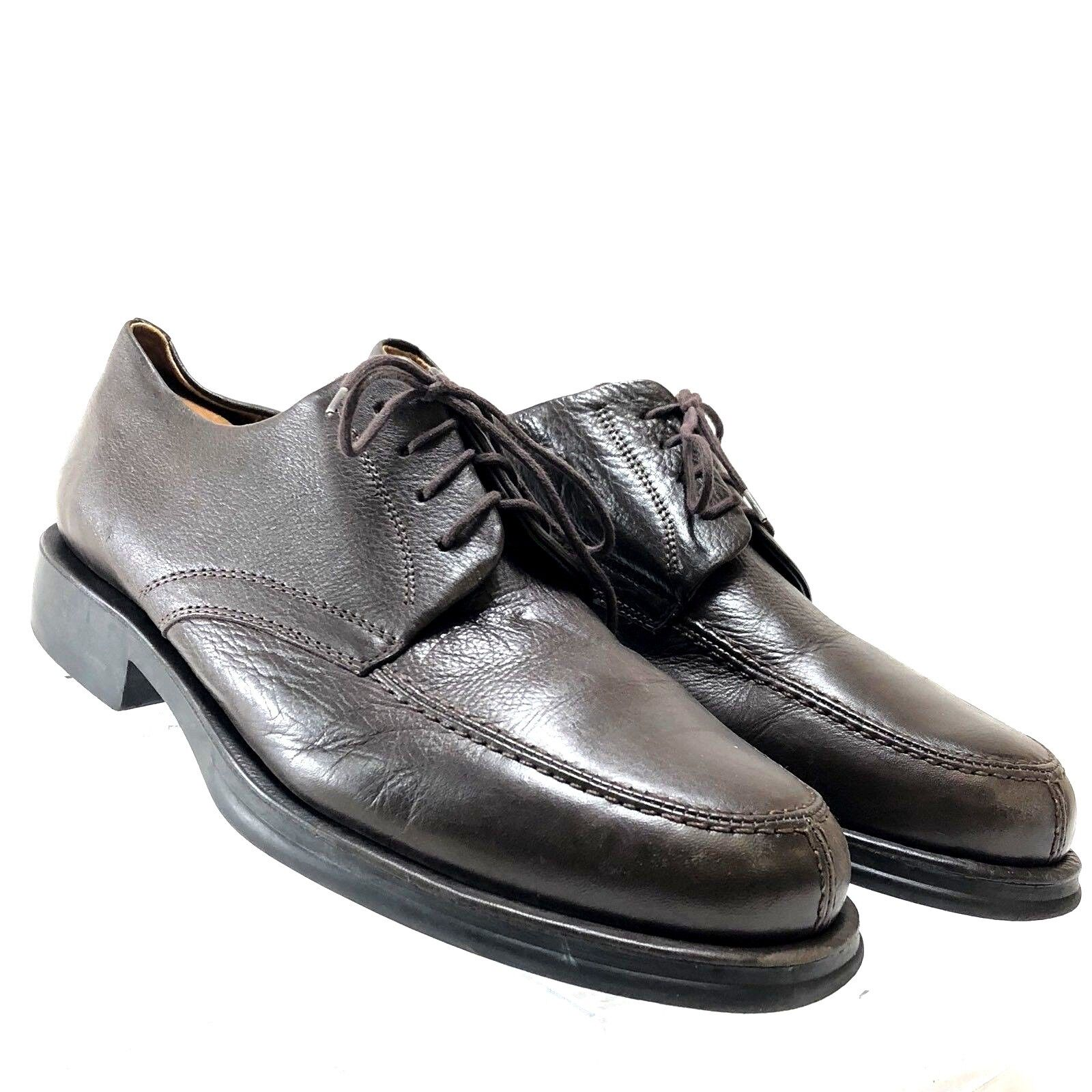 Sandro Moscoloni Mens shoes Dress Oxfords Business Casual Brown Leather 10D