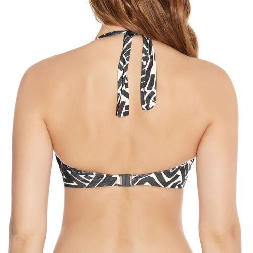 Fantasie Swimwear San Marino Twist Bandeau Bikini Top Pewter 6075