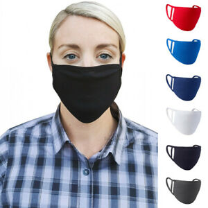 Face Mask Washable Cover Shield Breathable Reusable Double Layer Protection Ebay