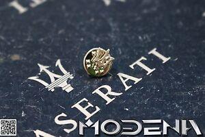 Pin-Ansteckpin-Anstecknadel-Logo-Emblem-Badge-Maserati-Tridente-Trident-ohne-OVP