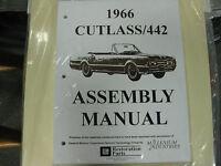 1966 Cutlass, 442 (all Models) Assembly Manual