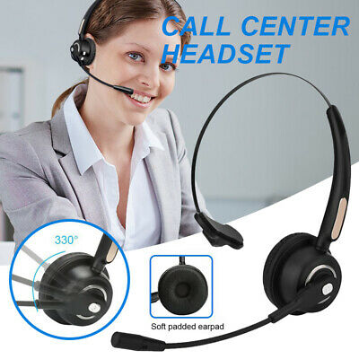 Noise Cancelling Bluetooth Headphone Headset W Mic For Computer Phones Desktop Ebay