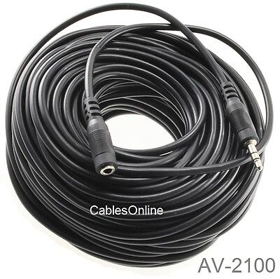 CablesOnline AV-112 12ft 3.5mm Stereo Audio Male to Male Cable//Cord