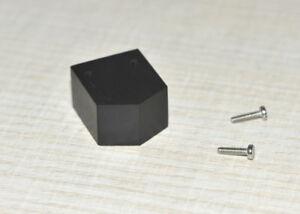 DECCA-LONDON-BLACK-Holzgehaeuse-Tonabnehmer-Cartridge-Pod-Ebony-Wood-Wooden-Body