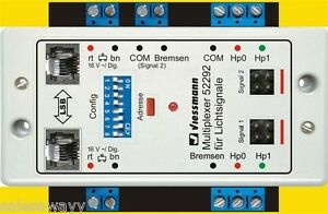 VIESSMANN-52292-dobles-multiplexor-DOS-SENALES-DE-LUZ-Tecnologia-Multiplex