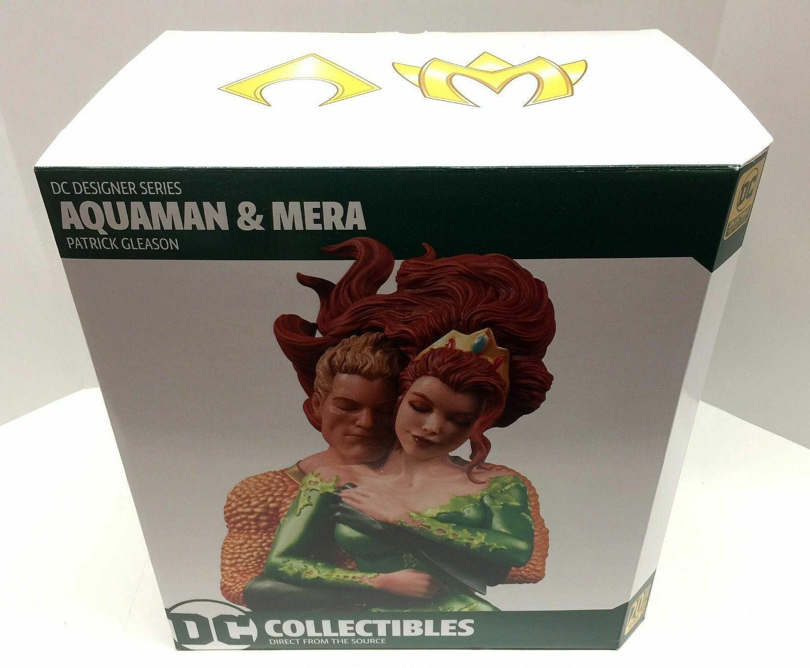 Aquaman and Mera by Pat Gleason Resin Statue Limited Limited Limited DC Comics Designer Series d77fe9