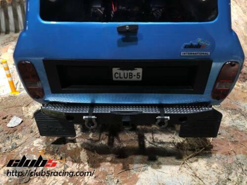 """Diamond Plate for Redcat GEN8 Stock /""""REAR/"""" Bumper"""