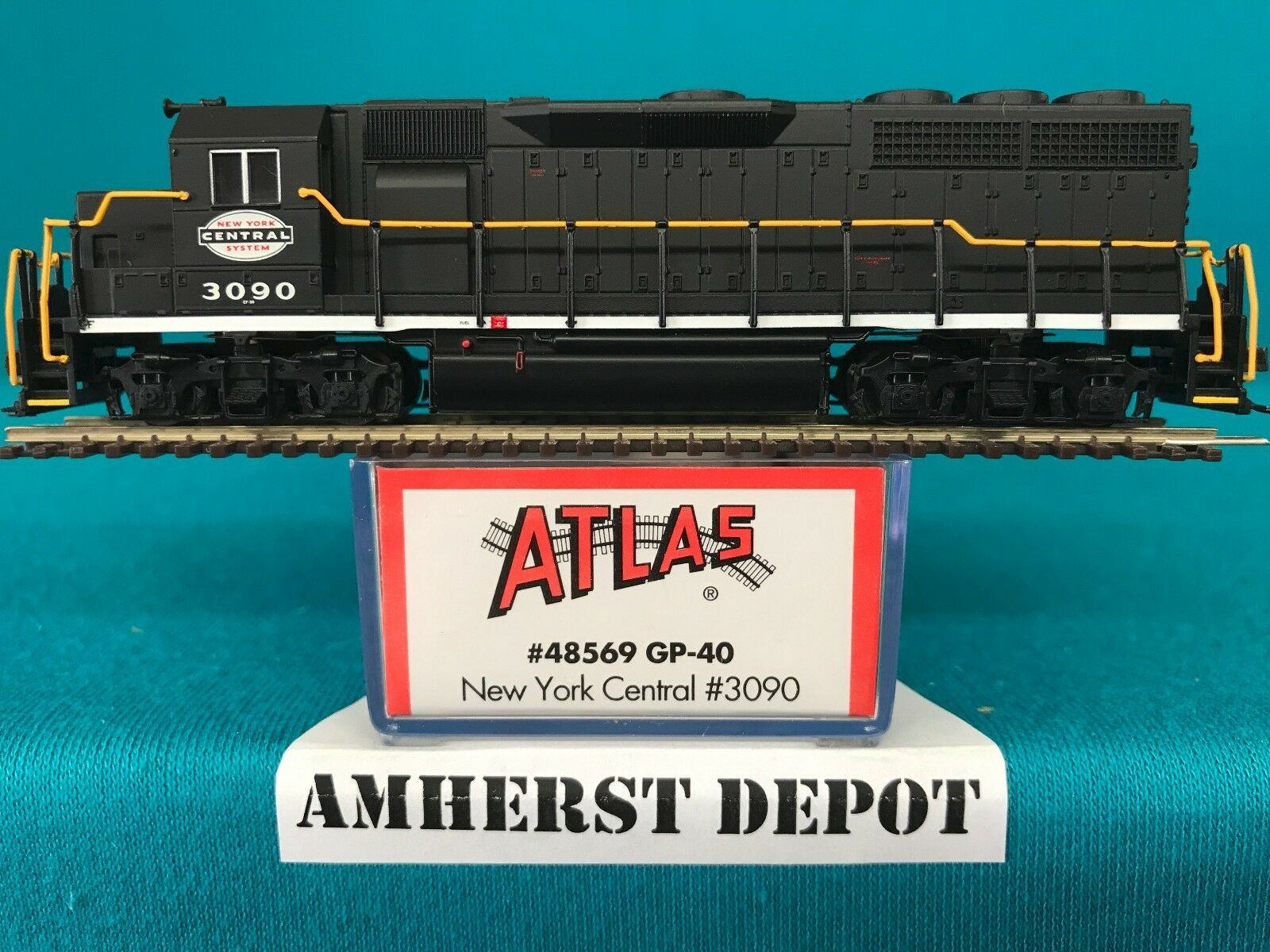 48569 Atlas Atlas Atlas N Scale GP-40 New York Central DCC Ready NIB 814b78