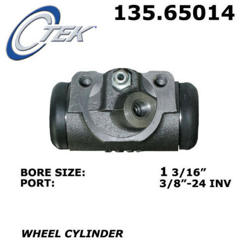Drum Brake Wheel Cylinder-C-TEK Standard Wheel Cylinder Rear//Front-Right Centric