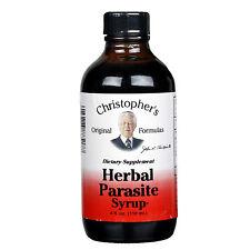 Christopher's Original Formulas Herbal Parasite Syrup 4 oz. Cleanse