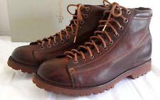 Pantofola d'Oro Brown leather monkey boots Vibram sole EU 41 UK 7