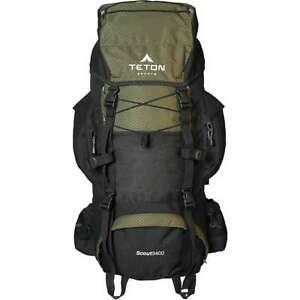 TETON Sports Scout 3400 Internal Frame Backpack; High-Performance Backpack