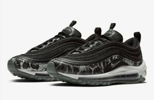 Details about Nike Air Max 97 PRM Women's Size 7 Black Animal Camo Grey Reflect NEW 917646-005