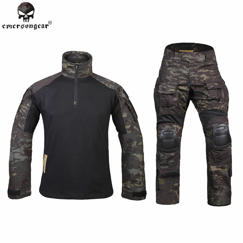 G3 Tactical Uniform BDU Emerson Airsoft Combat Hunting Clothing MultiCam negro