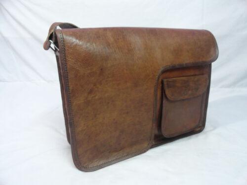 vintage Crossobody bandoulière ordinateurLaptop à School Shoulder en Bag Sac pour cuir College 8vnwN0Om