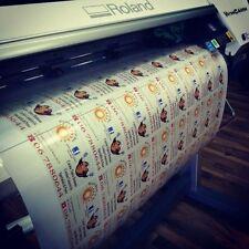 Bulk Sticker Custom Print Vinyl Your Design Decals Labels Logo Stickers Printing