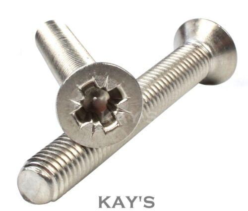 A2 Acero Inoxidable POZI de cabeza avellanada tornillos de máquina universal CSK tornillo M3 M4 M5