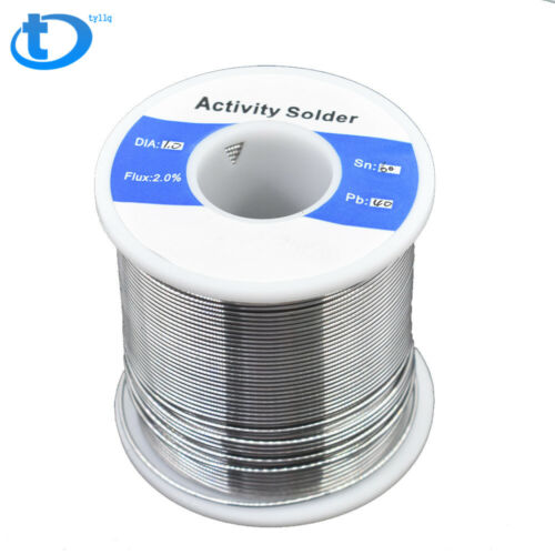 "60-40 Tin Lead Rosin Core Solder Wire Soldering Sn60 Pb40 Flux 0.039/""//1.0mm 1LB"