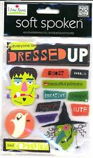 Halloween Dressed Up Best Costume Witch Frankenstein Scary  MAMBI 3D Stickers
