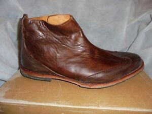 5 43 10 Uk Sz Eu Timberland Tobillo Hombre Company 5 Us Cuero Boot 9 Marrón Cremallera vvBq7Z