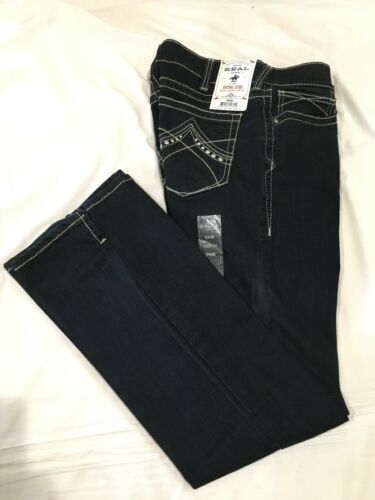 Size 30 R NWT ARIAT *.* Womens Stretch ECLIPSE MID RISE BOOTCUT Blue Jeans
