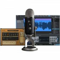 Blue Yeti Pro Studio Pack Usb Mic, Software & Cables Recording System